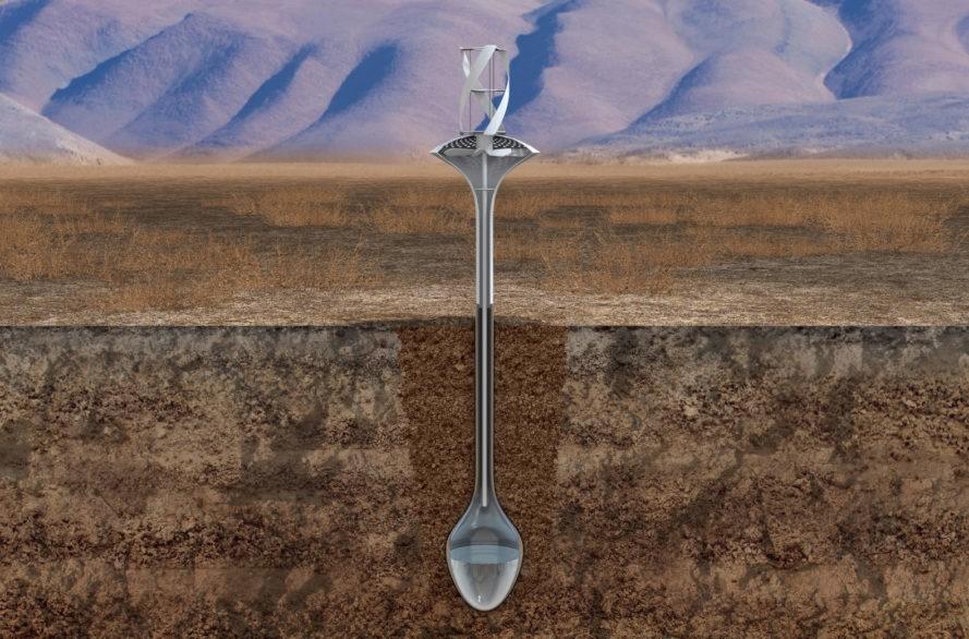Fresh source of water